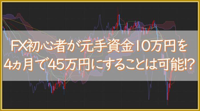 【成果報告】FXを始めて4ヵ月目の取引通信簿(DMM FX)を公開