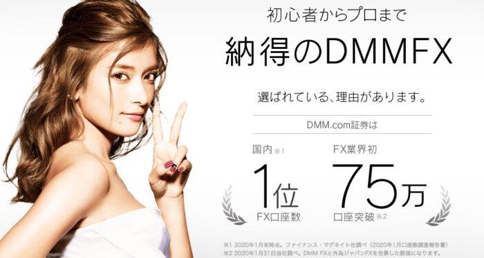 DMM FXは初心者におすすめ